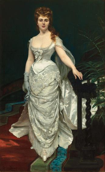 Mademoiselle X  - Carolus Duran 1876